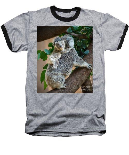 Hanging On Baseball T-Shirt