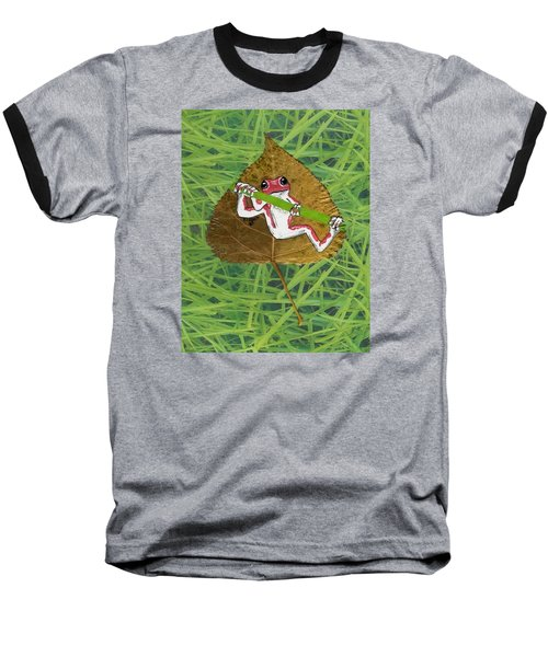 Hanging On Baseball T-Shirt by Ralph Root