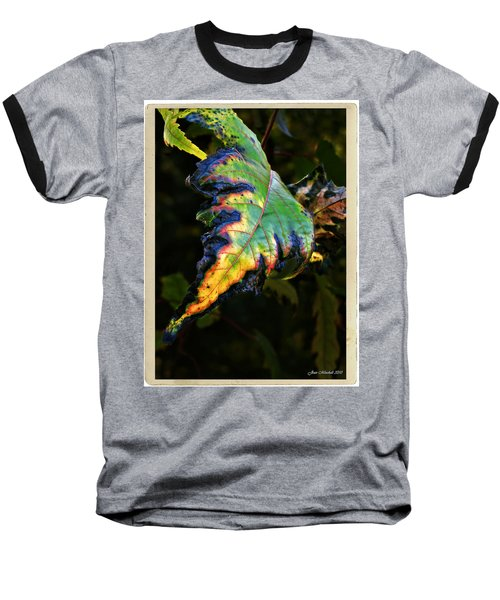 Baseball T-Shirt featuring the photograph Hanging Out by Joan  Minchak