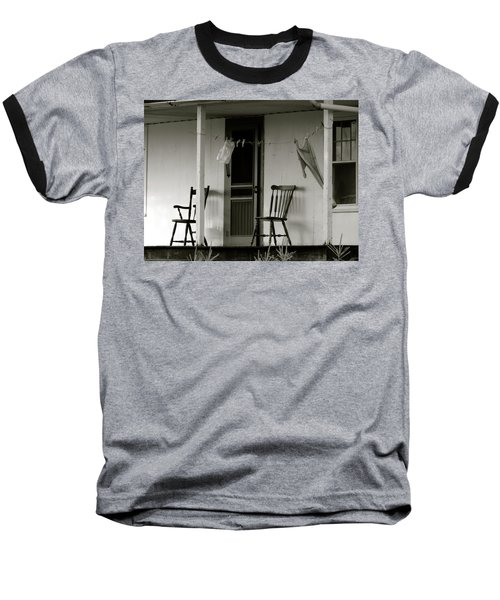 Hanging Out On The Porch Baseball T-Shirt
