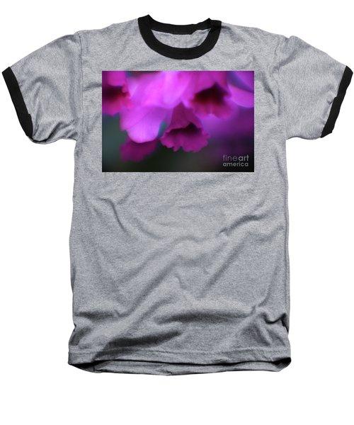 Hanging Purple Tropical Flowers Up Close- Kauai- Hawaii Baseball T-Shirt
