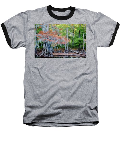 Baseball T-Shirt featuring the photograph Hanging Rust by Lana Trussell