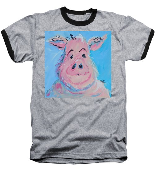 Hank Baseball T-Shirt by Terri Einer
