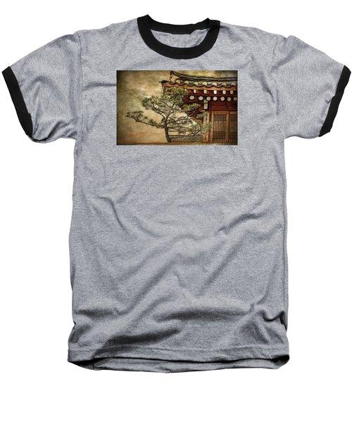 Hanok And Pine Baseball T-Shirt