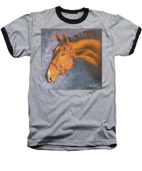 Hanoverian Warmblood Sport Horse Baseball T-Shirt