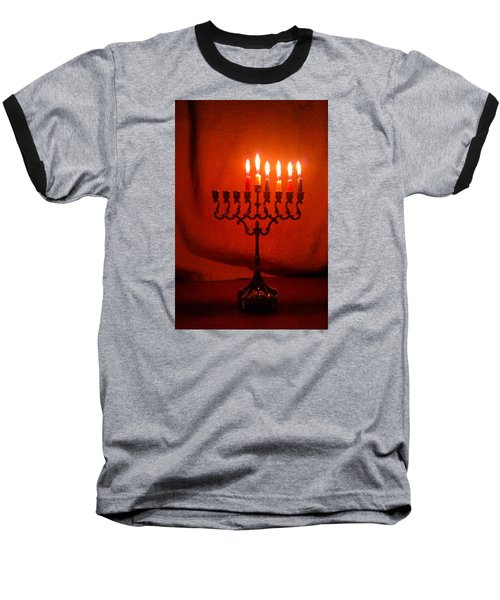 Hanukkah On Fifth Day Baseball T-Shirt