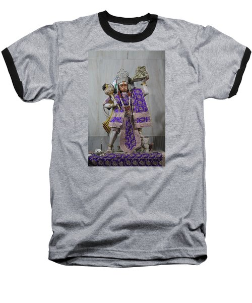 Hanuman Ji, Neem Karoli Baba, Vrindavan Baseball T-Shirt