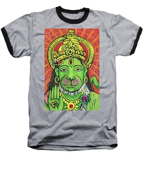 Hanuman Portrait  Baseball T-Shirt