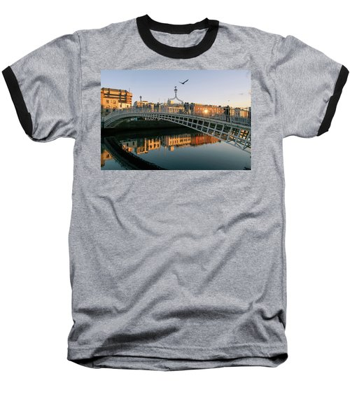 Ha'penny Bridge Baseball T-Shirt