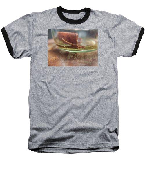 Happiness In A Jar Baseball T-Shirt by John Rossman