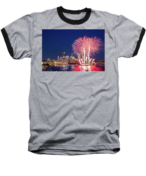 Happy 4th  Baseball T-Shirt
