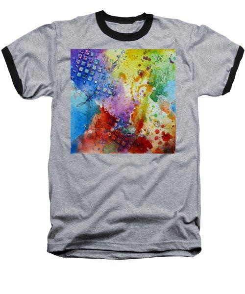 Happy Accidents Baseball T-Shirt by Tracy Bonin