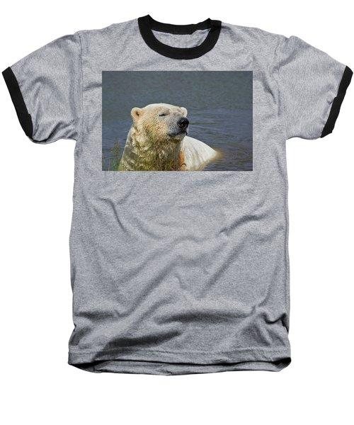 Happy Bear Baseball T-Shirt