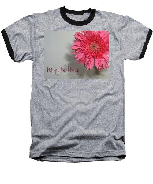 Happy Birthday Baseball T-Shirt by Marna Edwards Flavell