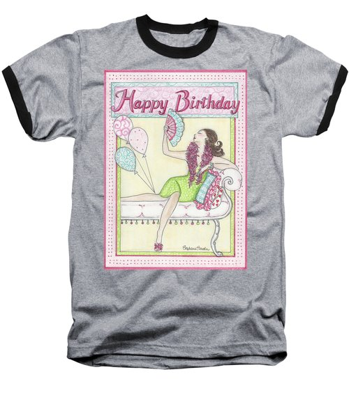 Happy Birthday Baseball T-Shirt