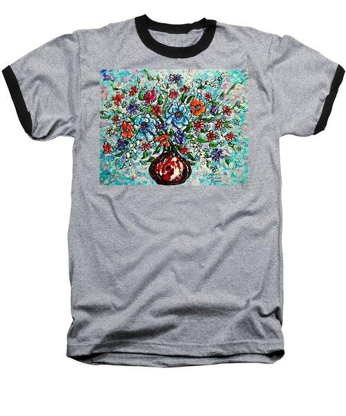 Happy Bouquet Baseball T-Shirt