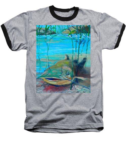 Happy Catfish Baseball T-Shirt