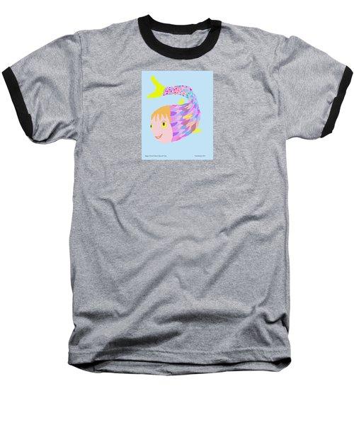 Happy Clown Fish  Baseball T-Shirt