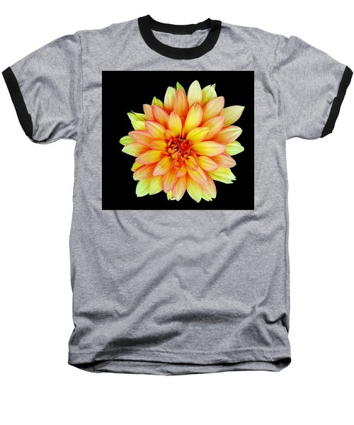 Happy Dahlia Baseball T-Shirt