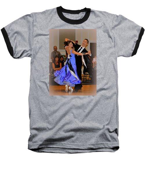 Happy Dancing Baseball T-Shirt by Lori Seaman