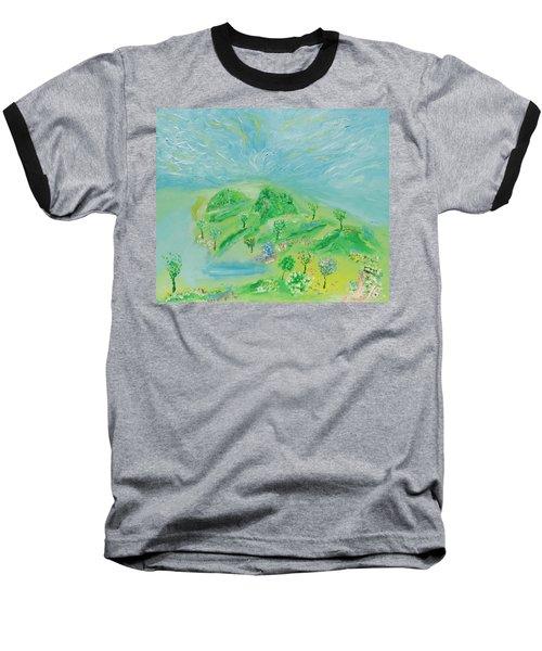 Happy Days. Landscape Baseball T-Shirt