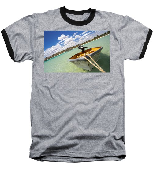 Happy Dinghy Baseball T-Shirt