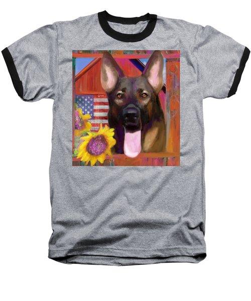 Happy Dog Baseball T-Shirt