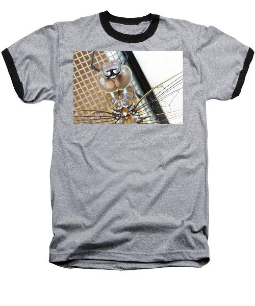 Happy Dragonfly Baseball T-Shirt