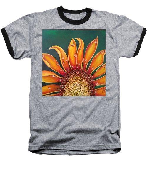 Happy Flower Baseball T-Shirt