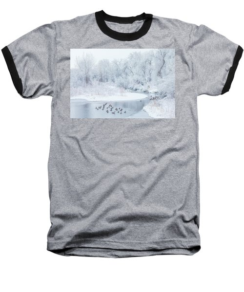 Baseball T-Shirt featuring the photograph Happy Geese by Darren White