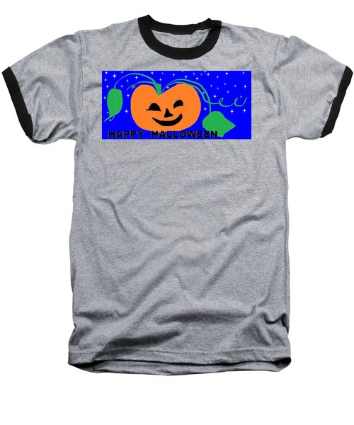 Happy Halloween 1 Baseball T-Shirt