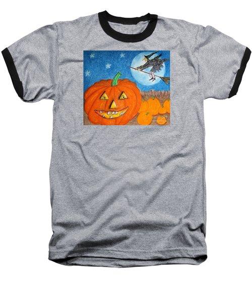 Happy Halloween Boo You Baseball T-Shirt