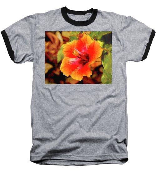 Happy Hibiscus Baseball T-Shirt