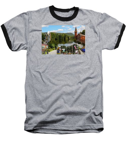 Happy In Easthampton Collage Baseball T-Shirt