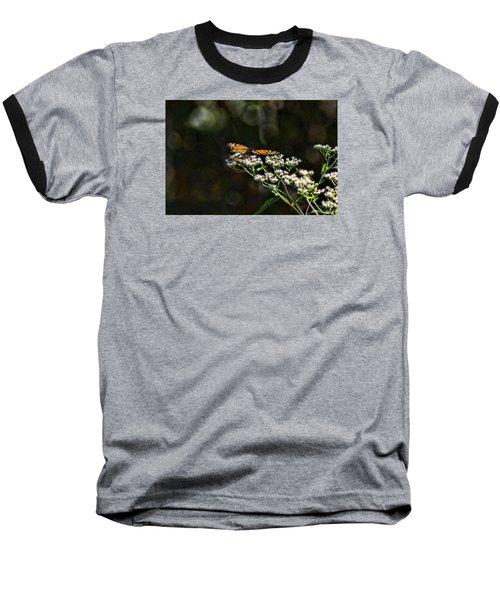 Happy Monarch Baseball T-Shirt