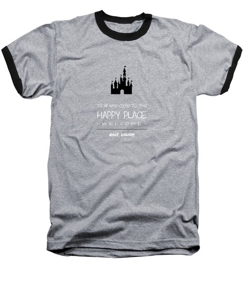 Happy Place Baseball T-Shirt