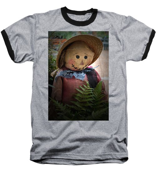 Happy Scarecrow Baseball T-Shirt