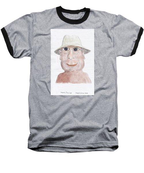 Happy Senior Baseball T-Shirt by Fred Jinkins