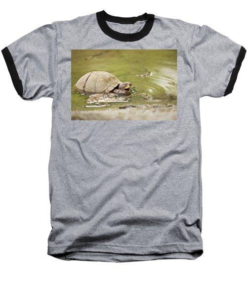 Happy Turtle Baseball T-Shirt