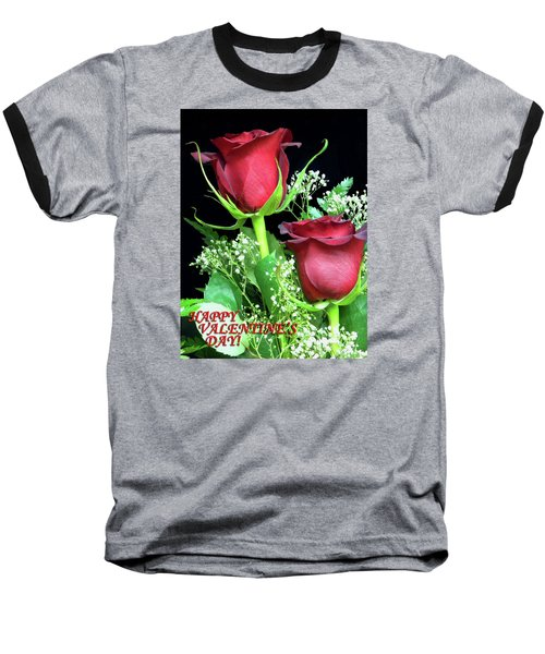 Baseball T-Shirt featuring the photograph Happy Valentines Day by Sandi OReilly