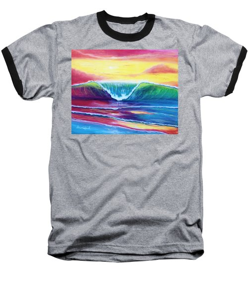 Happy Wave Baseball T-Shirt
