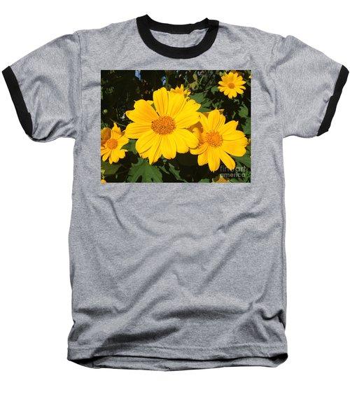 Happy Yellow Baseball T-Shirt