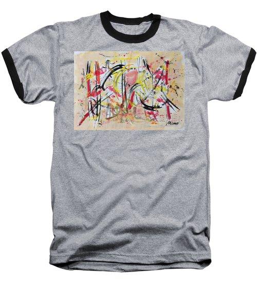 Happyness Baseball T-Shirt