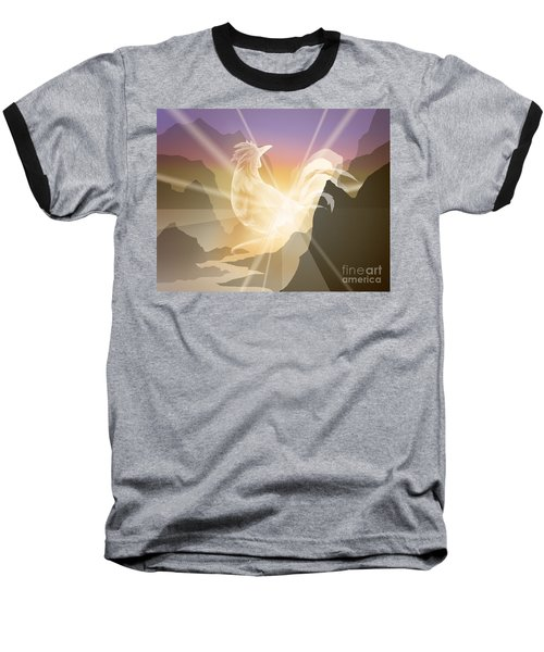 Harbinger Of Light Baseball T-Shirt