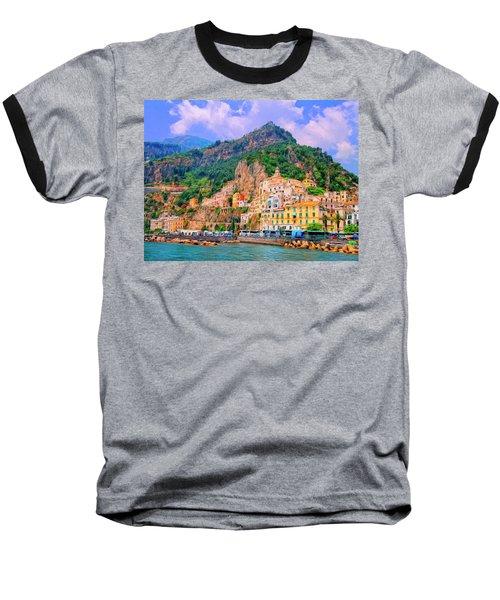 Harbor At Amalfi Baseball T-Shirt