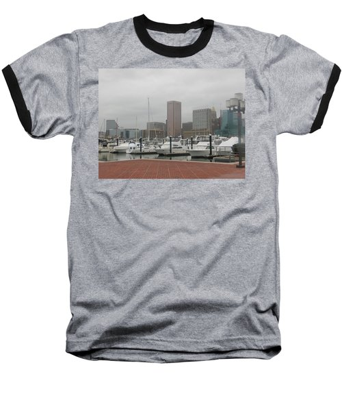 Harbor Happiness Baseball T-Shirt