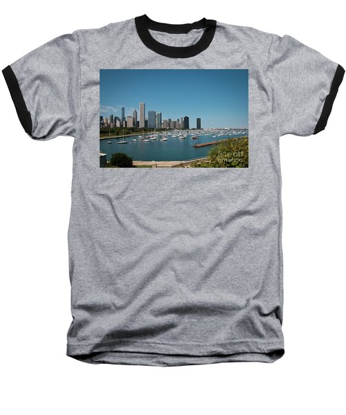 Harbor Parking In Chicago Baseball T-Shirt