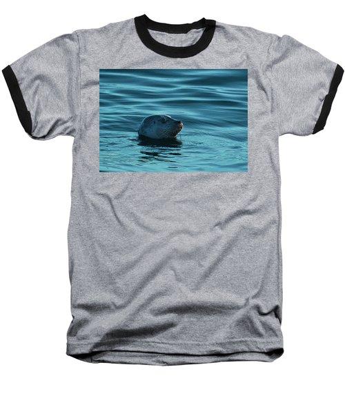 Harbor Seal Baseball T-Shirt