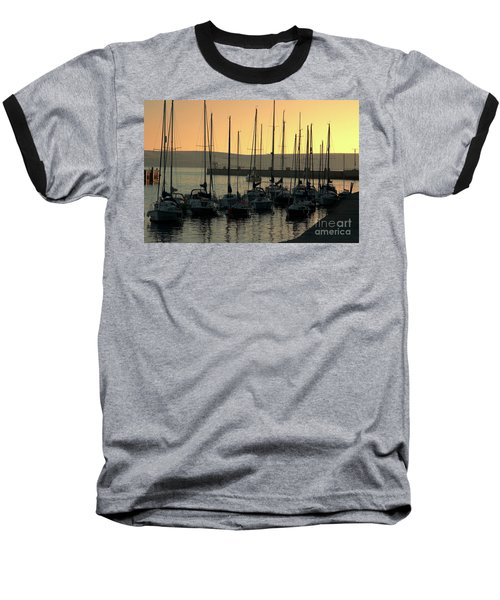 Harbor Sunrise Baseball T-Shirt