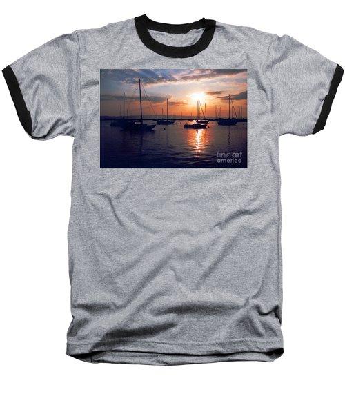 Harbor Sunrise Baseball T-Shirt